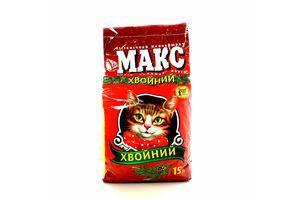 Наповнювач Макс для котів хвойний 4,5кг