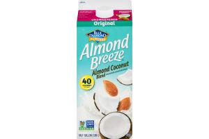 Blue Diamond Almonds Almond Breeze Almondmilk Coconutmilk Blend Original Unsweetened