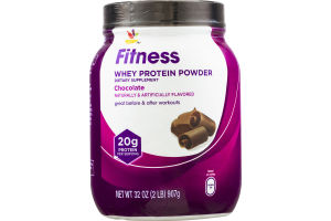 Ahold Fitness Whey Protein Powder Chocolate