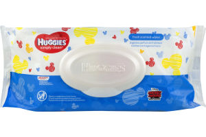 Huggies Wipes Simply Clean Fresh - 72 CT