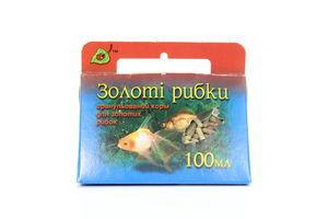 Корм д/риб сух.Природа Золота рибка 100г