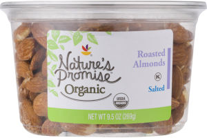 Nature's Promise Organic Roasted Almonds