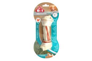 Лакомство для собак Косточка с мясом Delights Pro Dental 8in1 65г