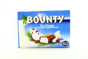 Морозиво Bounty Вершкове 6*40г х12