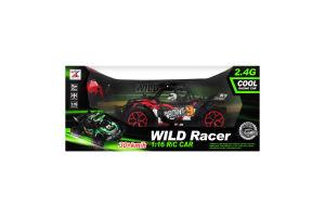 Машинка для детей от 5лет на радиоуправлении №518-2А Гонщик Wild Racer 1шт