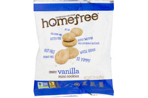 Homefree Mini Cookies Vanilla