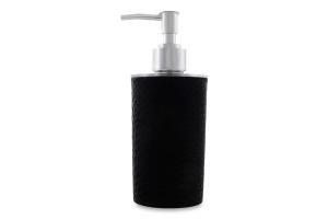 Дозатор для жидкого мыла черный Yi-01