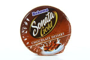 Десерт Bakoma Sonata Gold Шоколадний ст 7,2% 140г Польща х24