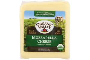 Organic Valley Mozzarella Cheese