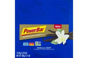 PowerBar Performance Energy Vanilla Crisp - 12 CT