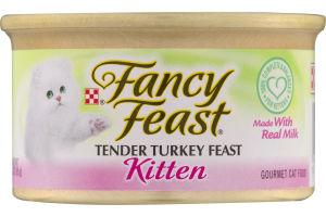 Fancy Feast Tender Turkey Feast Kitten Gourmet Cat Food