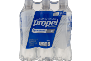 Propel Zero Calories Water Beverage Blueberry Pomegranate - 6 PK