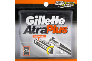 Gillette AtraPlus Razor Blades- 10 CT