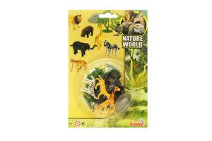 Іграшка для дітей від 3років Зоопарк Nature World Simba 1шт