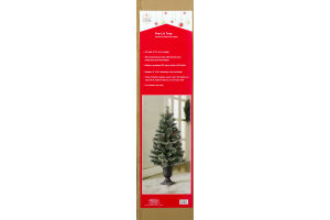 Smart Living Pre-Lit Tree with 35 Warm White LED Lights