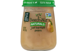 Beech-Nut Naturals Stage 1 Just Bartlett Pears