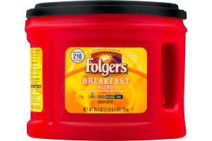 Folgers Breakfast Blend Ground Coffee Mild