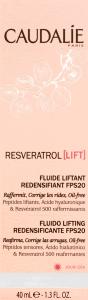 Флюїд-ліфтинг Caudalie Resveratrol Lift зволожуючий SPF 20 40мл 191