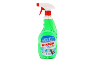 Средство для мытья окон с уксусной кислотой Window Plus 500мл