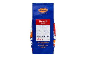 Кофе натуральный жареный в зернах Brazil Santos Gemini м/у 1кг