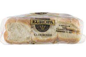 Europa Club Deli Rolls - 6 CT