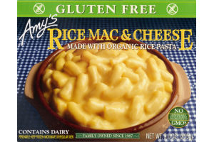 Amy S Rice Mac Cheese Gluten Free Amy S 42272000456 Customers Reviews Listex Online