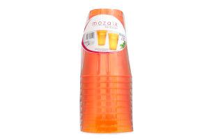 Набор стаканов Sabert оранжевые 200мл 10шт