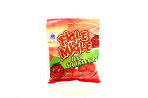 Цукерки Figle Migle Wild Strawberry Сунички 80г х12