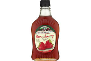 Maple Grove Farms Of Vermont Strawberry Syrup