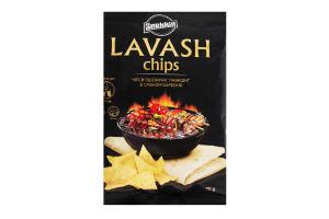 Чіпси пшеничні зі смаком барбекю Lavash Snekkin м/у 70г