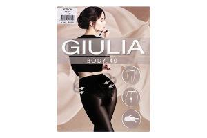 Колготки жіночі Giulia Body 40den 3-M nero