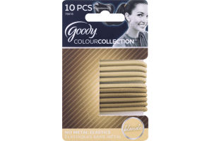 Goody ColourCollection No Metal Elastics Blonde - 10 CT