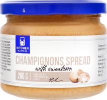 Спред із шампіньйонами і солодкою кукурудзою Kitchen Masters с/б 280г