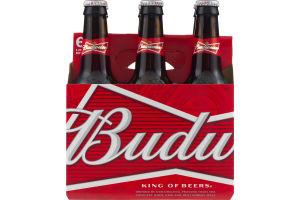 Budweiser Beer - 6 PK