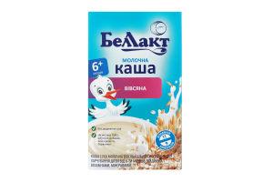 Каша молочная овсяная для детей от 6мес Беллакт к/у 200г