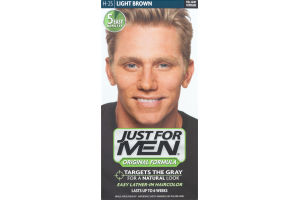 Just For Men Original Formula Easy Lather-In Haircolor H-25 Light Brown