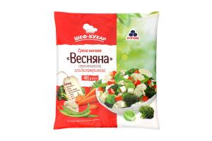 Суміш овочева заморожена Весняна Рудь м/у 400г
