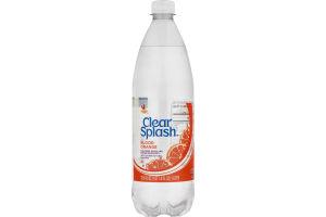 Ahold Clear Splash Sparkling Water Blood Orange