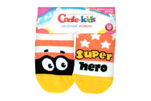 Шкарпетки дитячі Веселі ніжки Tip-Top Conte-kids 17С-10СП, розмір 12, 283 помаранчевий