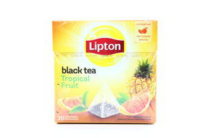 Чай черный с ананасом и грейпфрутом Tropical Fruit Lipton к/у 20х1.8г