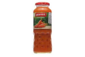 Сок Granini морковный 50% стекло