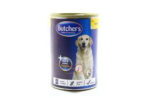 Корм Butcher's Plus шматочки з куркою 400г