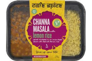 Cafe Spice Channa Masala With Lemon Rice Mild