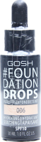 GOSH основа тональна Foundation Drops 006