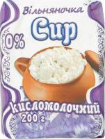 Сир кисломолочний нежирний Вільняночка м/у 200г