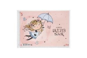 Альбом для малювання 20 аркушів №PB-SC-020-406 Star 1шт