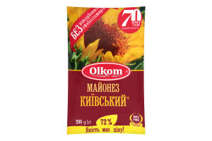 Майонез 72% Киевский Olkom м/у 200г