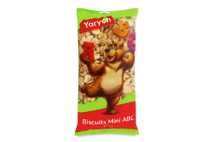 Печенье затяжное Mini ABC Yarych м/у 500г