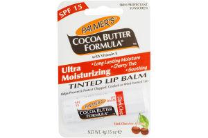 Palmer's Cocoa Butter Formula Ultra Moisturizing Tinted Lip Balm Dark Chocolate & Cherry