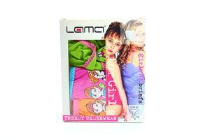 Труси Lama дівчачі G-180 3шт
